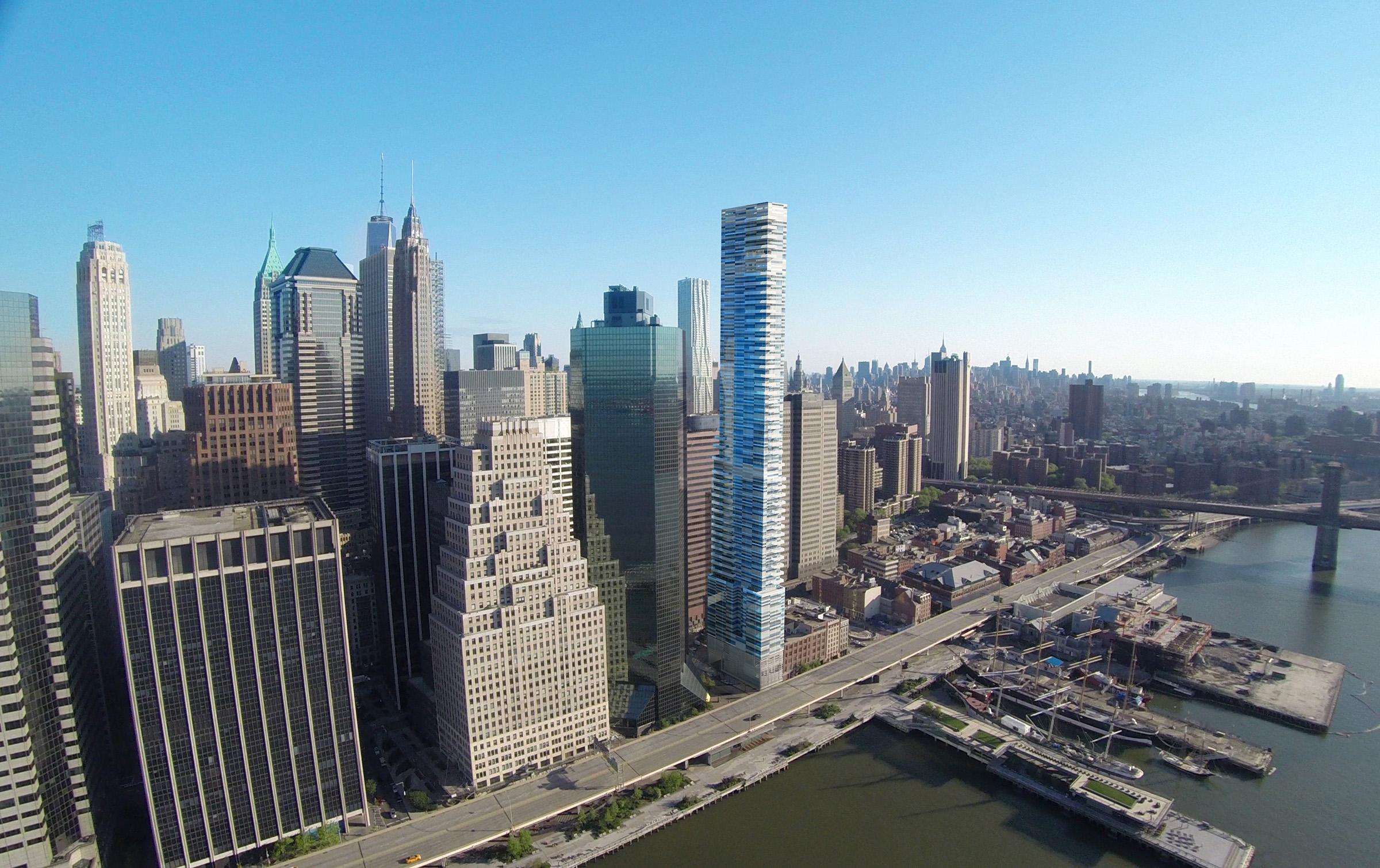 DESIGN DEVELOPMENT | FULL HEIGHT TOWER VIEW