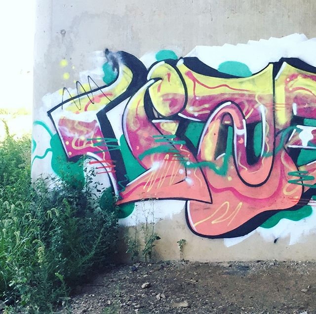 #graffitiart #indygraffiti #fallcreekparkway #fallcreektrail