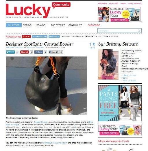 LUCKY Magazine online