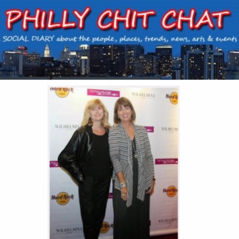 PRESS Philly Chit Chat doreen creede style maniac and janice waitkus lagos