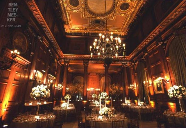 Imagine how different this room at the University Club in New York City would look with bright lights.