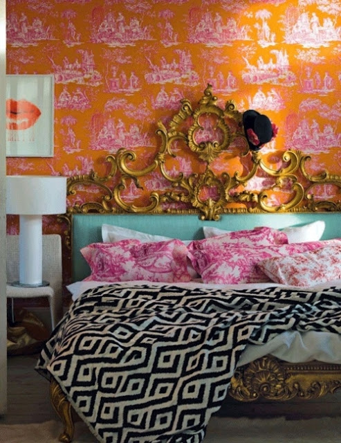 3+DECOR+Orange+Toile+lips+Pink+Chevron+more+via+Decorista+Daydreams+source+LivingEtc+photo+by+James+Merrel.jpg
