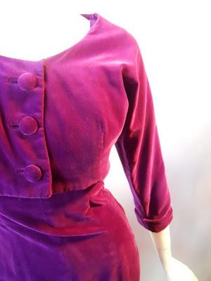 DRESS+1950s+Purple+Velveteen+Dress+and+Bolero+Jacket++by+Kahn+of+Minneapolis+via+Dorotheas+Closet+Vintage.jpg