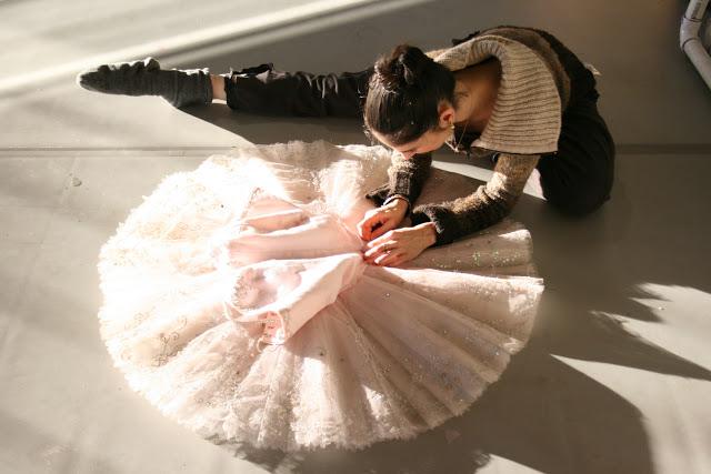 Principal dancer Arantxa Ochoa .  (Photo: Alexander Iziliaev)