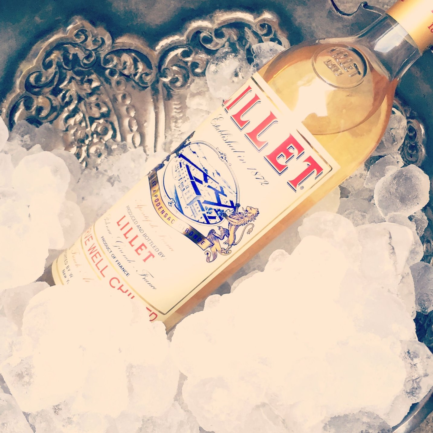summer Lillet on ice photo Doreen Creede