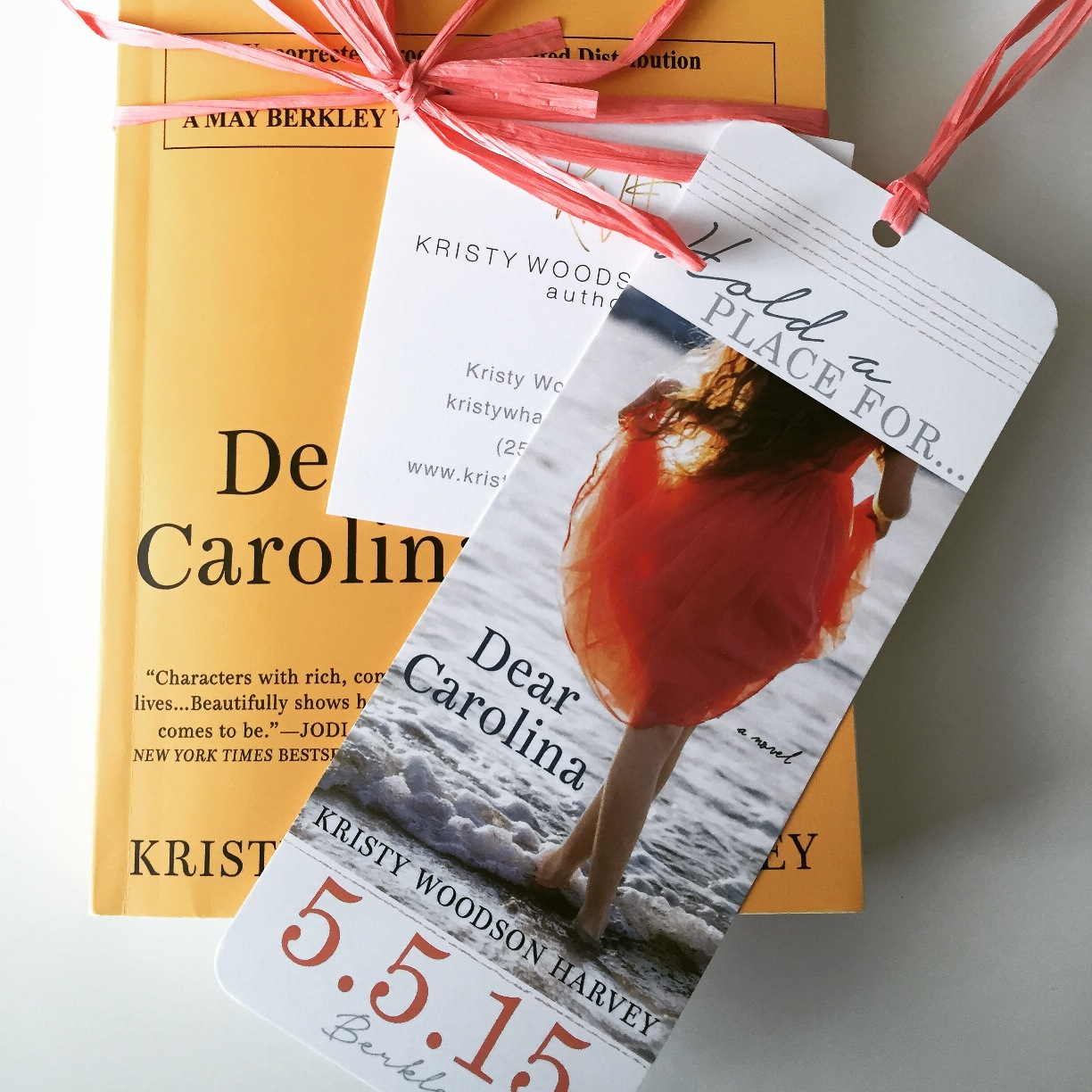 Years in the making: the launch of  Dear Carolina.