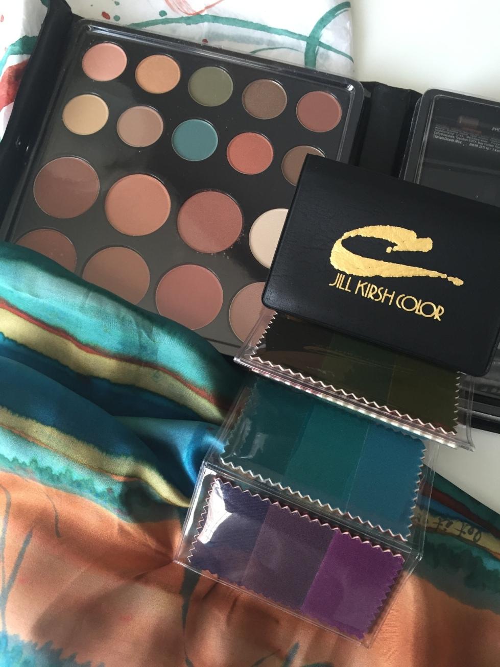 Jill Kirsh Color makeup palette and swatchbook