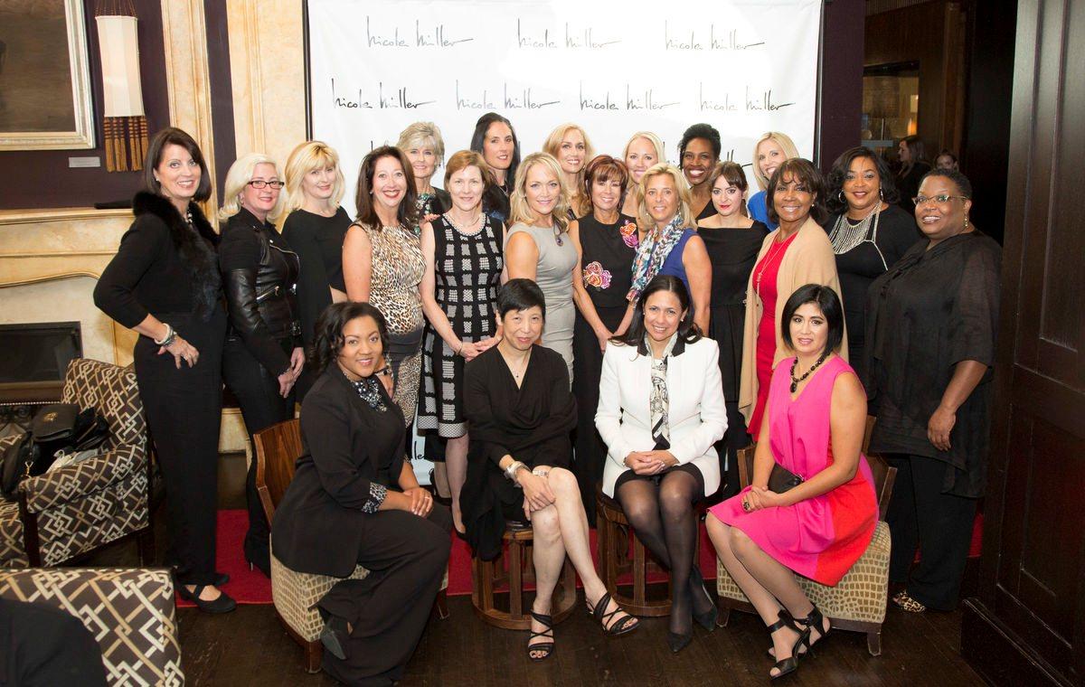 XIX Most Fashionable Women in Philadelphia 2015 Nicole Miller LAGOS Visionary Ellen-Yin Honoree Doreen-Creede