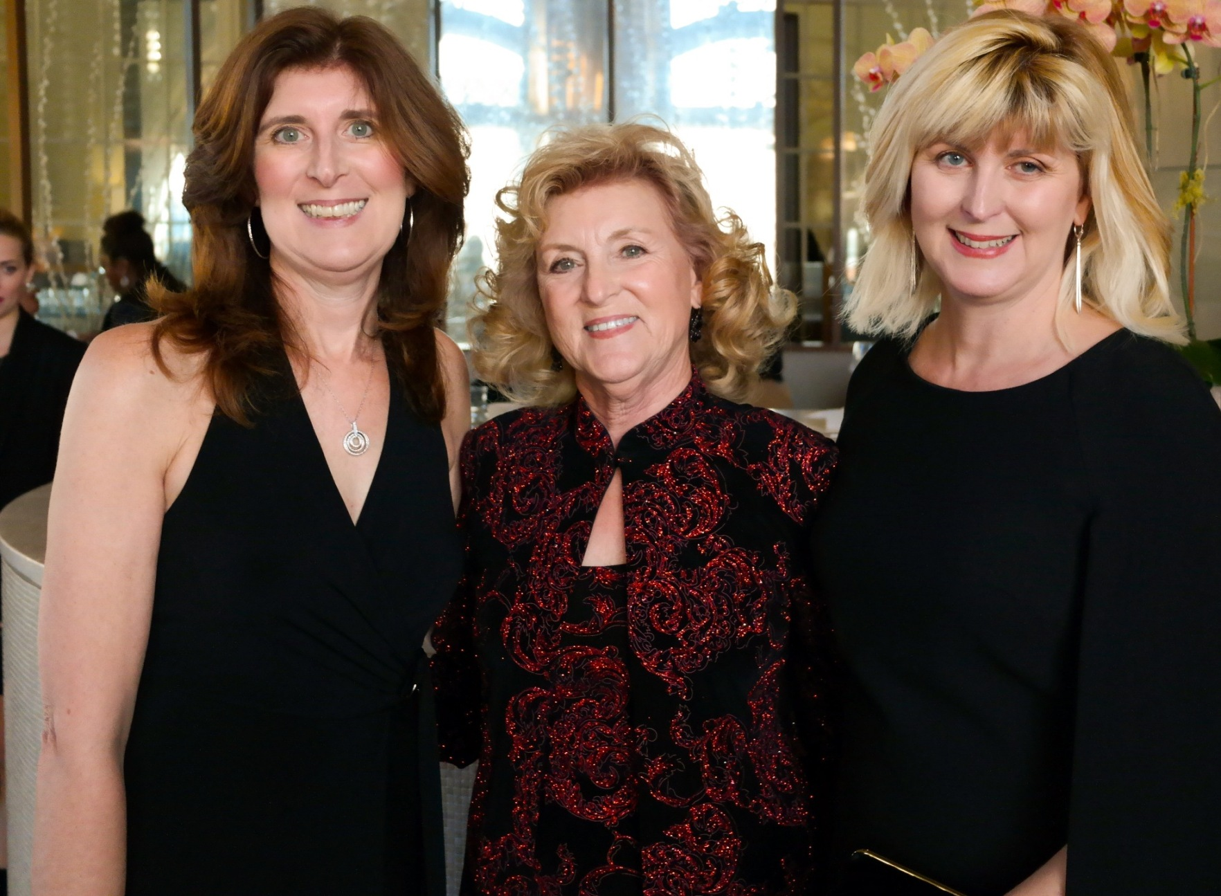 Fashion & Family: my stylish sister Denise Schwemmer and style icon mom Lorraine Naughton celebrated with me (Doreen Creede / Style Maniac)at the XIX Most Fashionable Women event.(PHOTO: Erick Campos/Founder Magazine)
