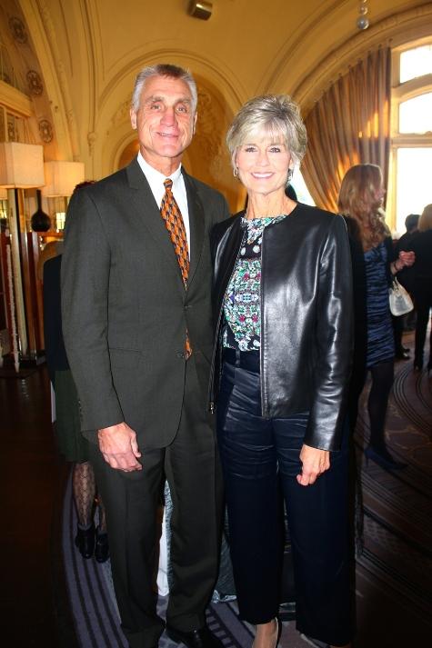 Honoree Doreen Holmgren (right) and her husband Paul. (PHOTO: MKDA)