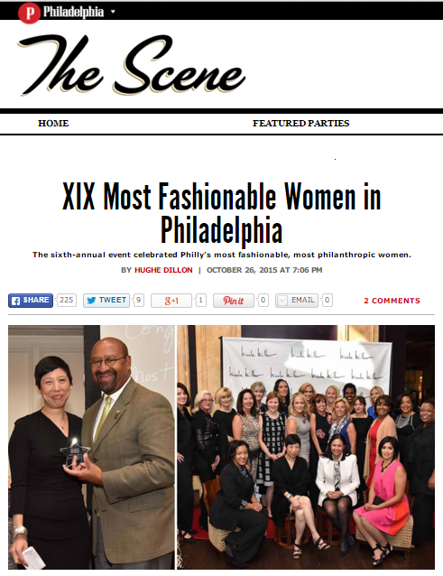 Philadelphia Magazine The Scene Hugh E Dillon XIX Women feature Doreen Creede