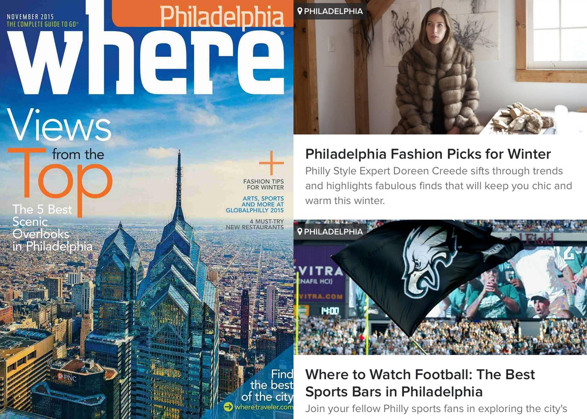 WHERE winter fashion tips from Doreen Creede November 2015