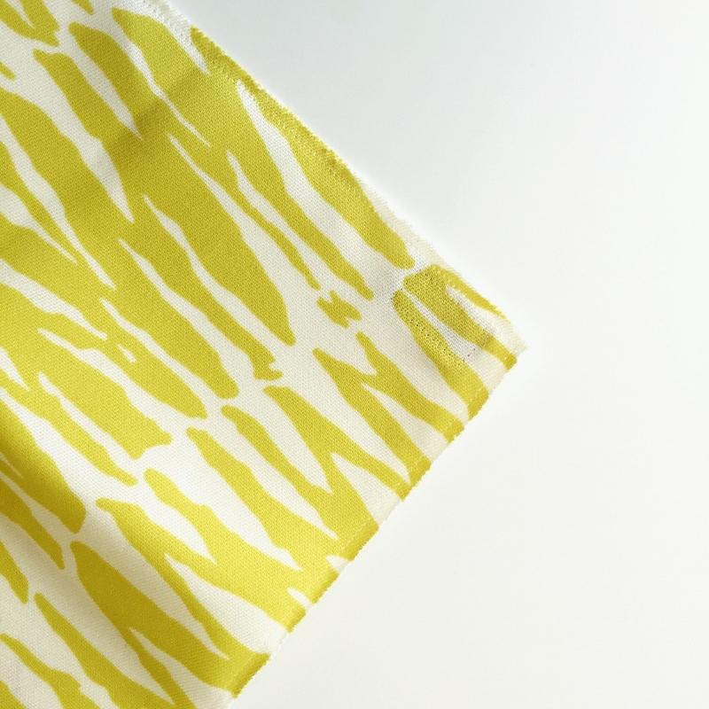 Yellow Zebra Is Always In Style