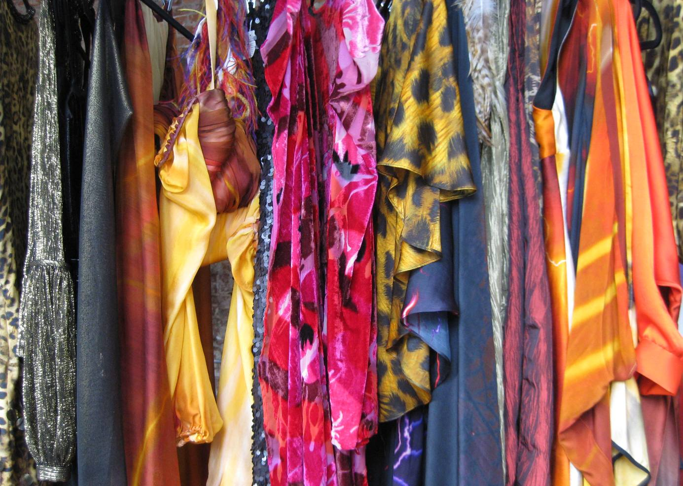 fashion rack of beautiful clothes photo doreen creede style maniac