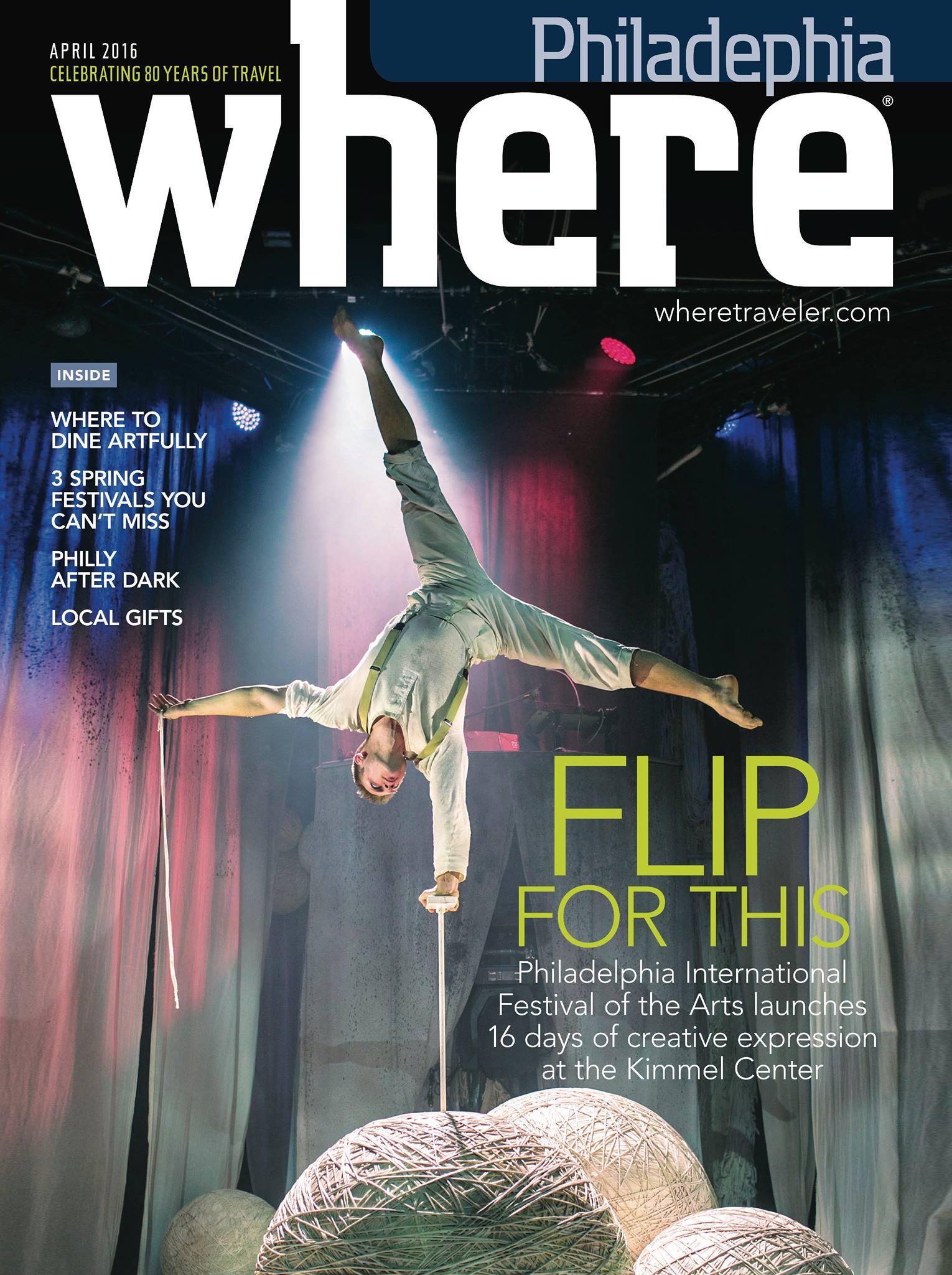 Where Philadelphia magazine April 2016 cover
