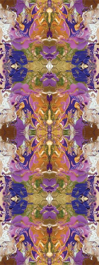 """""""Purple Orchid"""" by Liza Hathaway Matthews for Cotton & Quill"""