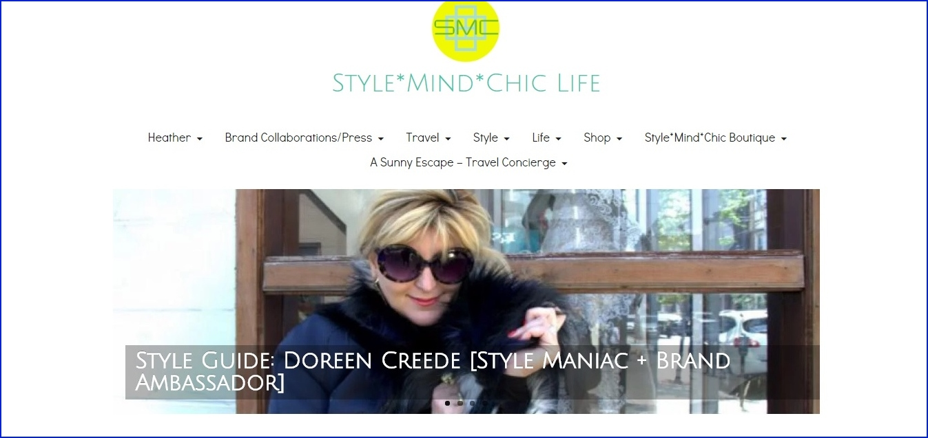 Doreen Creede named a Style Guide by Stylemindchic Life