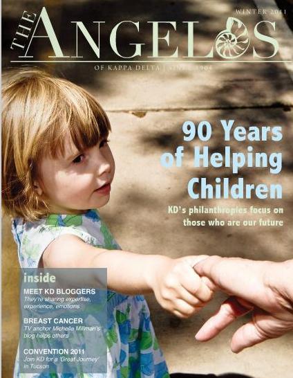 0 press The Angelos of Kappa Delta cover winter 2011 Doreen Creed Style Maniac.jpg