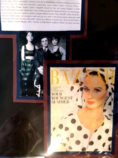 One of Emil's many career accolades was being named one of the 3 top designers under 30 by  Harper's Bazaar  magazine.
