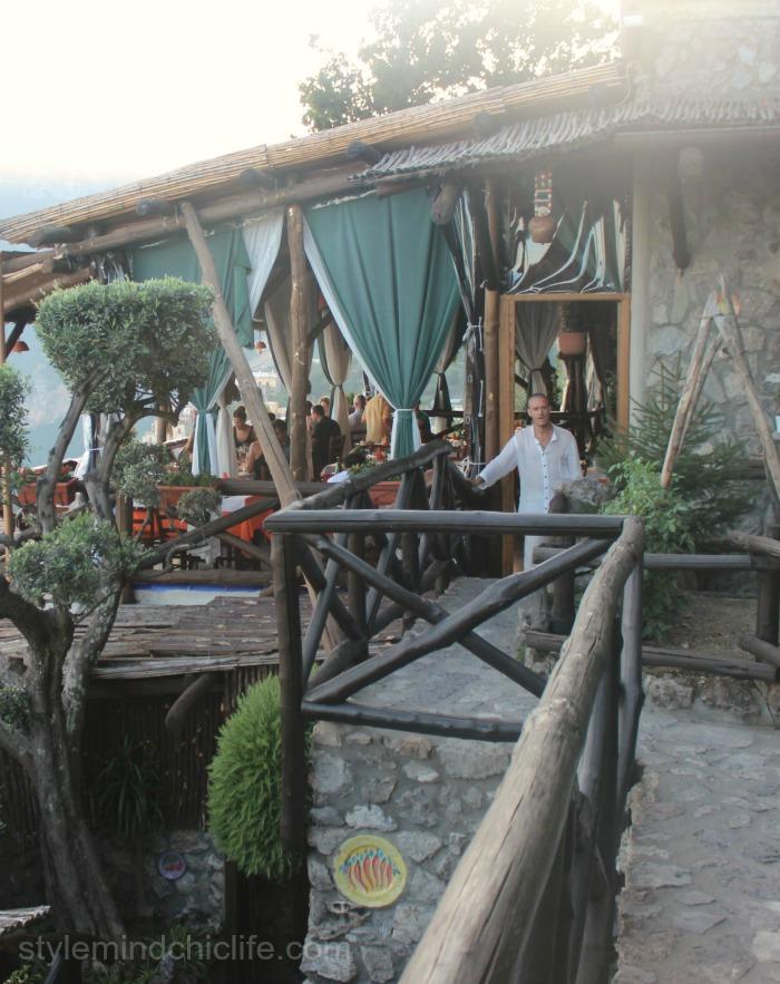 Dining at La Tagliata in Positano Italy by Heather Lindstrom