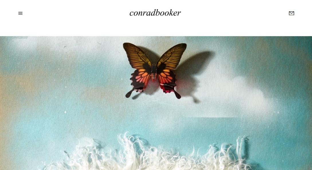 WEBSITE STYLING & CONSULTATION  for designer Conrad Booker