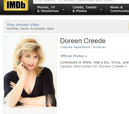 IMDb photo of Doreen Creede by  Floyd Dean