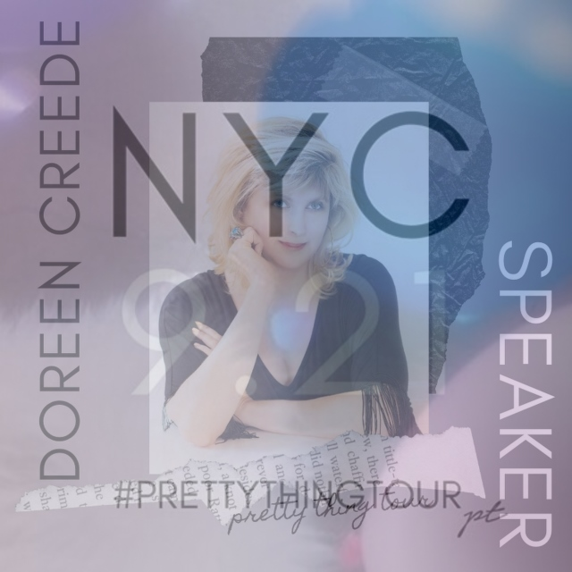 Discount for PRETTY THING TOUR NYC - Use my DOREENCREEDE for $20 off the Registration Fee