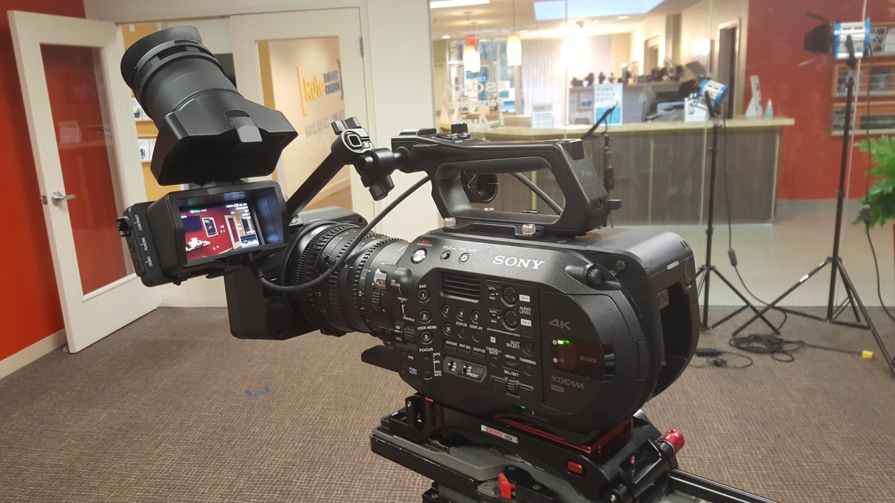 The FS7 M2 at Rule Boston Camera