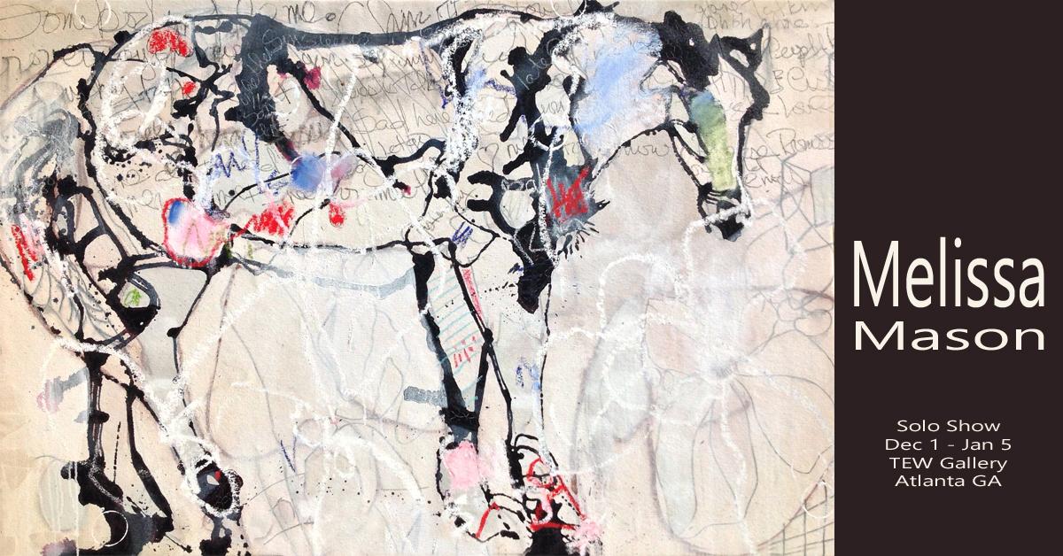 Melissa Mason TEW Gallery abstract art