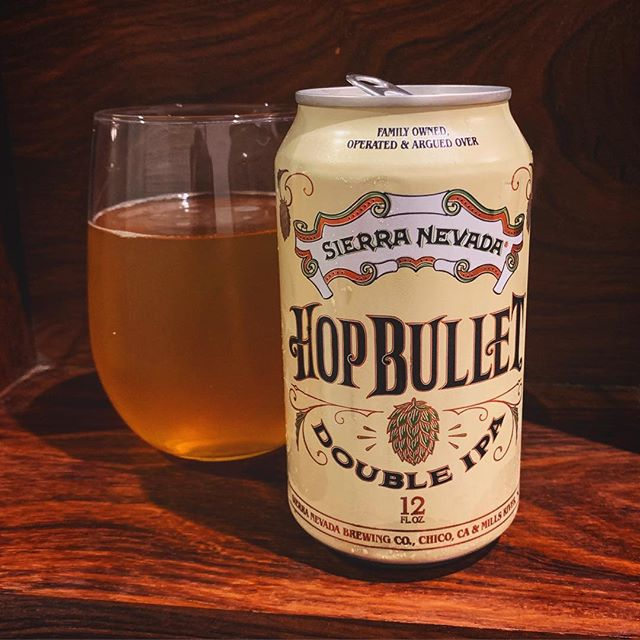 Shoots through the pallet, This bullet is quite tasty, Double hopped ammo. #sierranevada #hopbullet #doubleipa #craftbeer #californiabeer #totalwine #haiku
