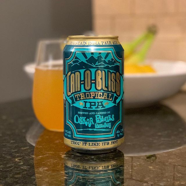 Trop it like it's hot, Fruity hop experience, Sunny beach sipper. #oskarblues #canobliss #tropicalipa #ipa #coloradobeer #totalwine #craftbeer #haiku