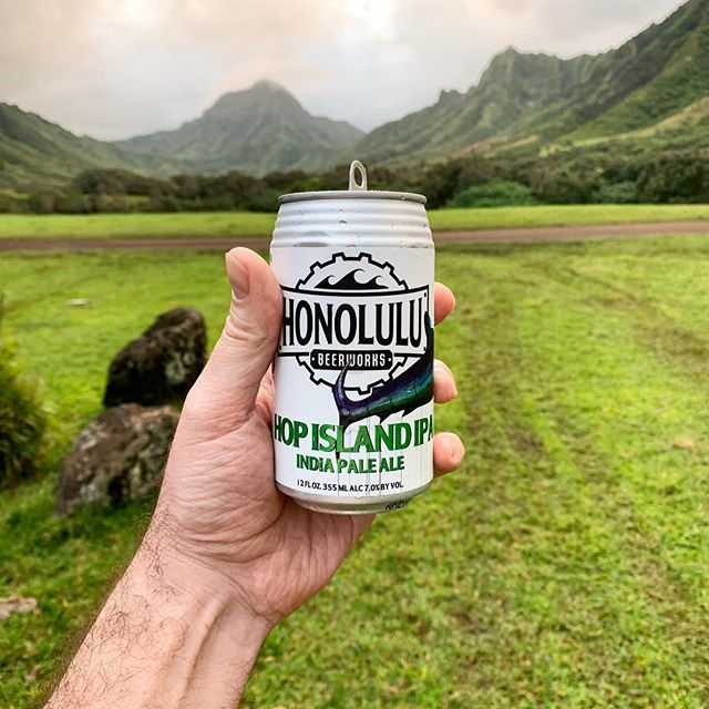 This shoot is a wrap, Native brew in paradise, Mahalo y'all. #honolulubeerworks #hopislandipa #ipa #hawaiibeer #craftbeer #microbrew #haiku #nofilter