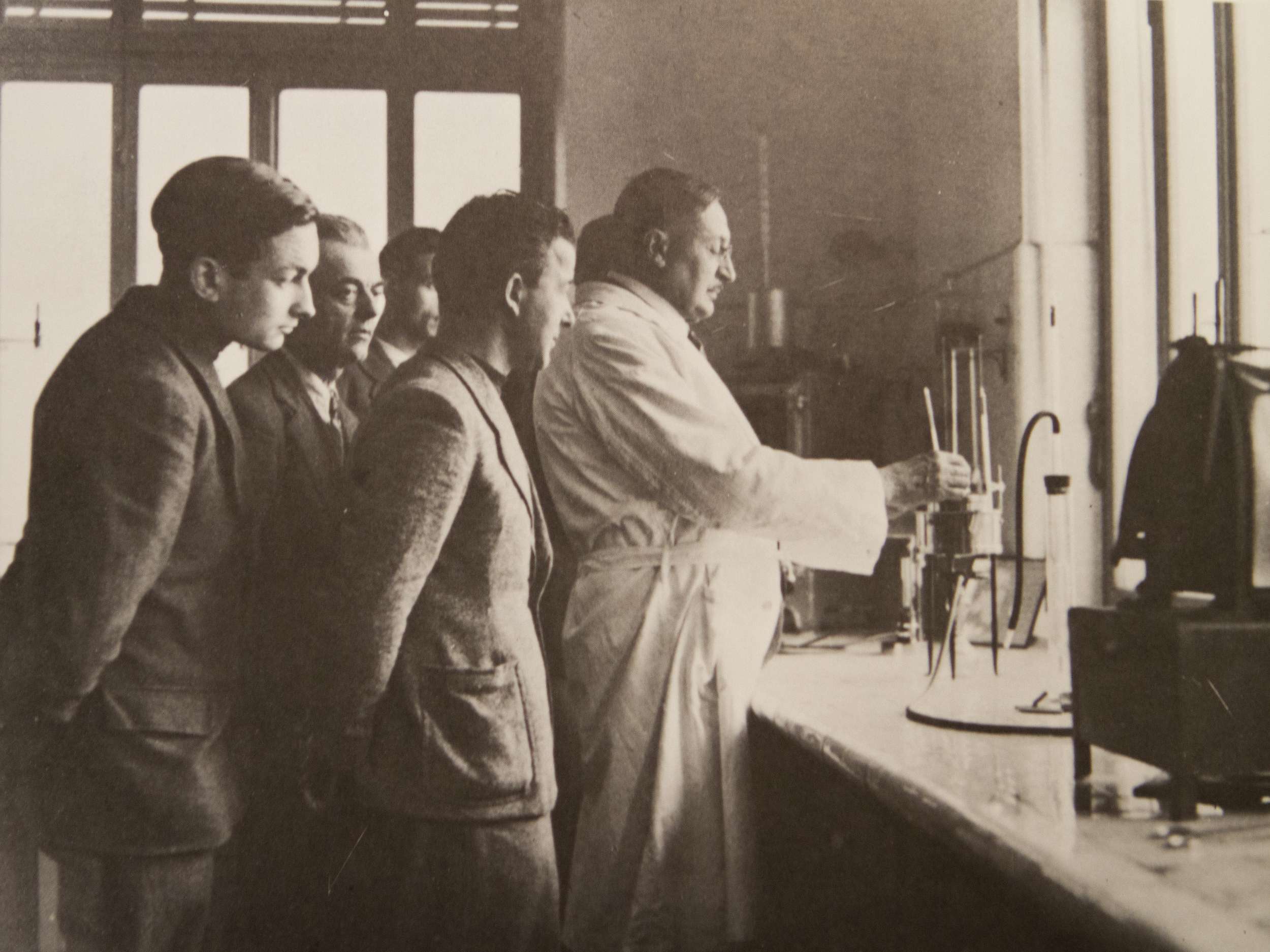 Demonstration by Paolo Cassinis in 1940