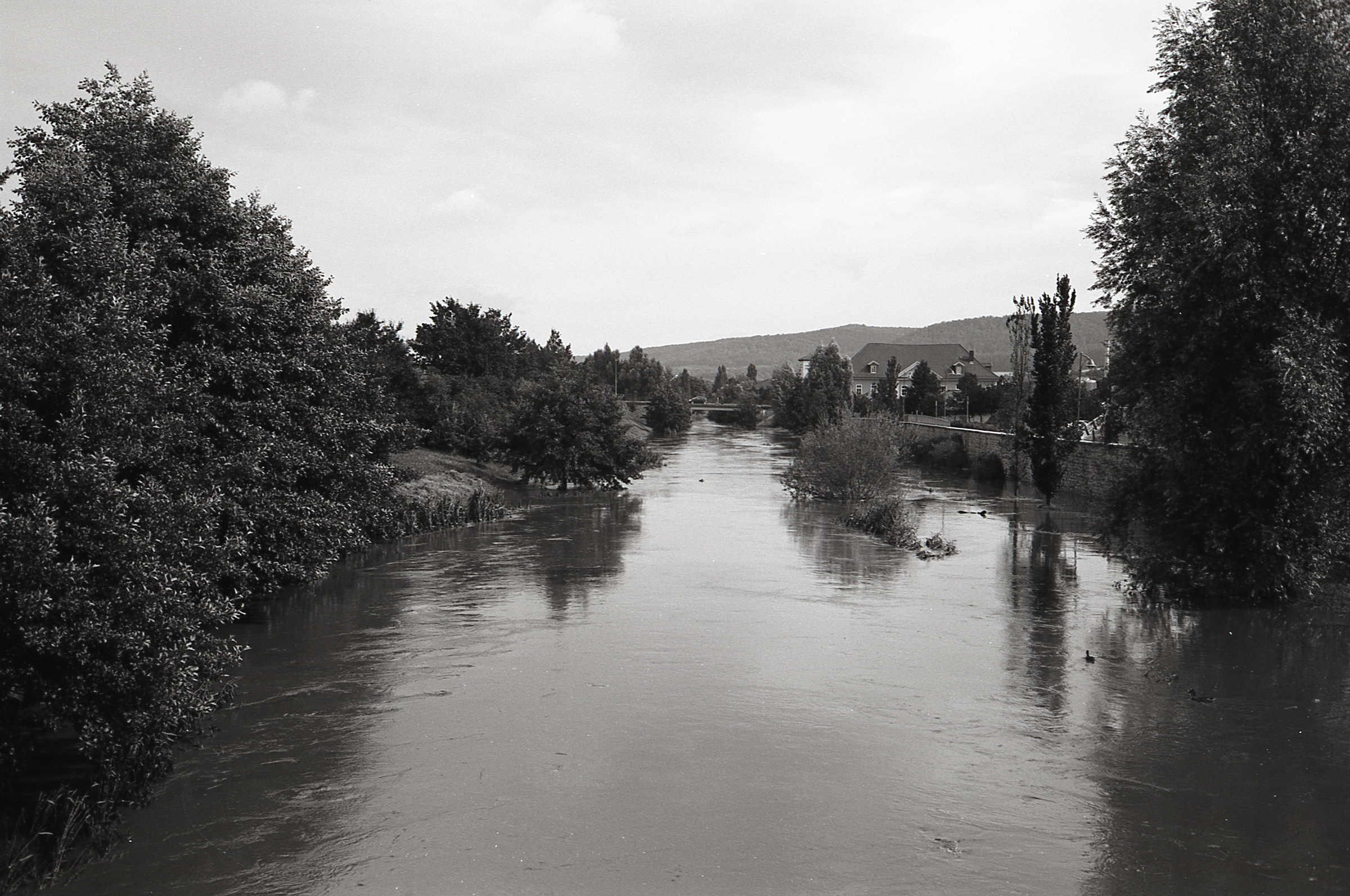 Photo by Alexander Lechner   Shot with a Zeiss Ikon ZM with Voigtlander Nokton 40mm f/1.4 lens at 80 ISO  Developed with D-23 1+0 (2.5 g Metol and 33 g Na-sulfit filled up to 330 ml with water) for 7 min at 20°C - first 30 s constant movement then 4 inversions every full min  Scanned with Epson V550 at 4800 dpi, absolutely non altered by any software