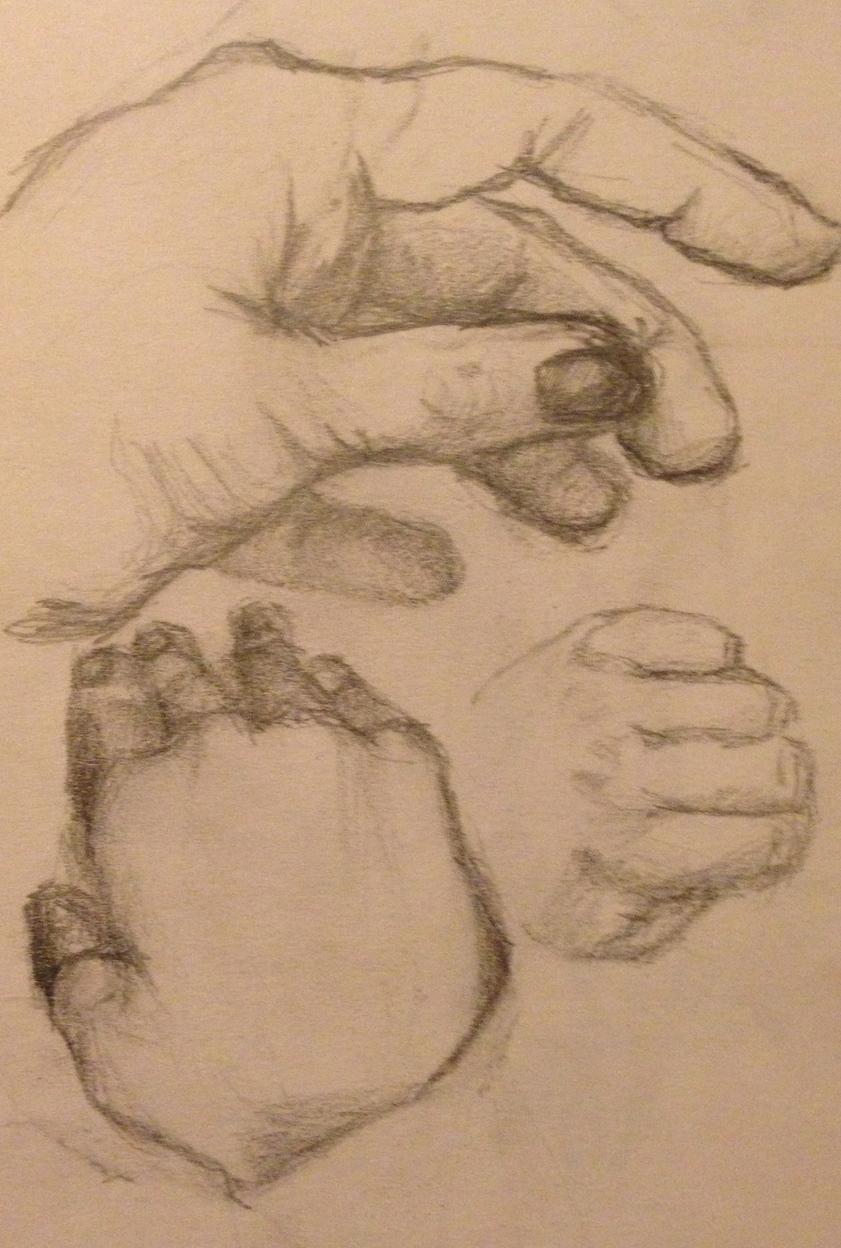 Hands Study No. 2