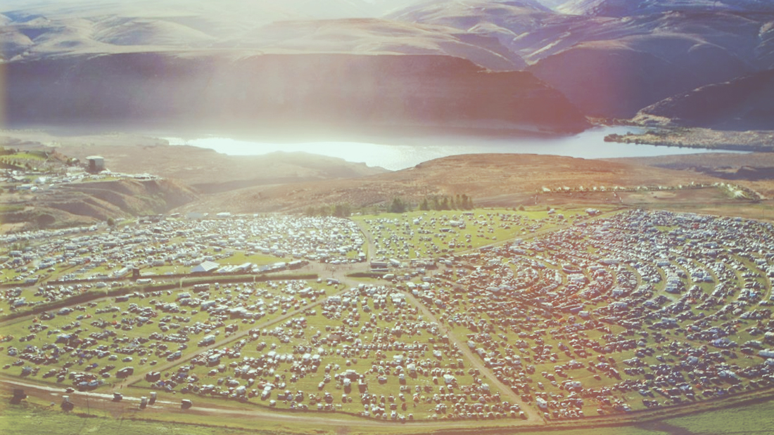 Camping at The Gorge