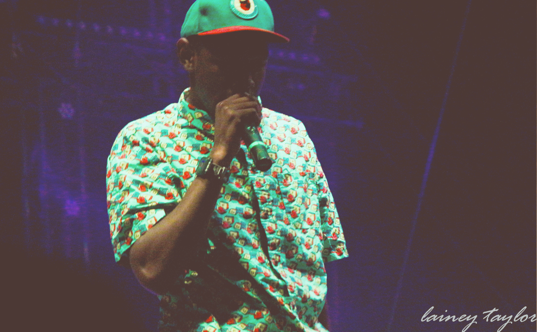 Tyler The Creator                                                                       Photo credit: Lainey Taylor