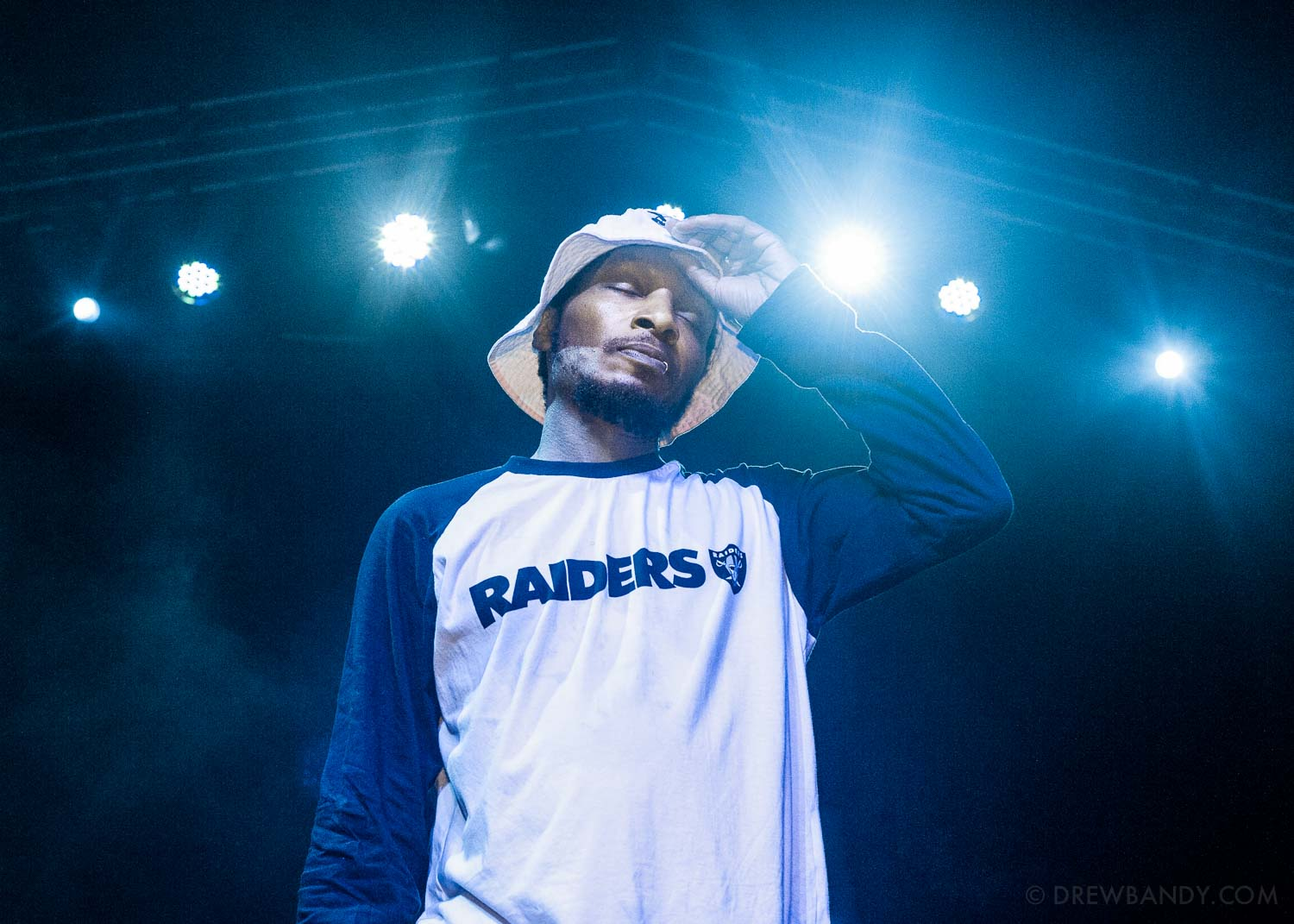 Del the Funky Homosapien (Photo by Drew Bandy)
