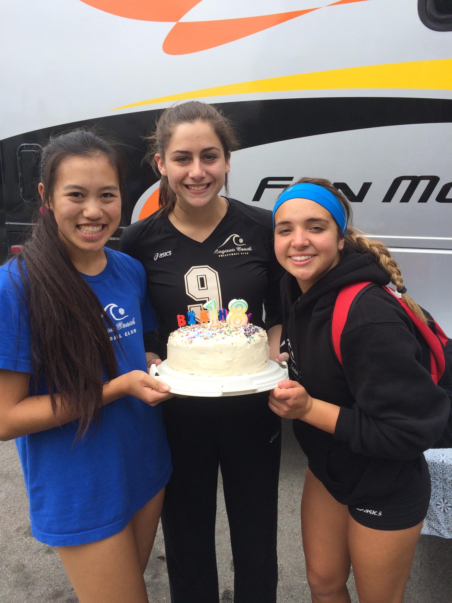 Teammates Even Share Birthdays