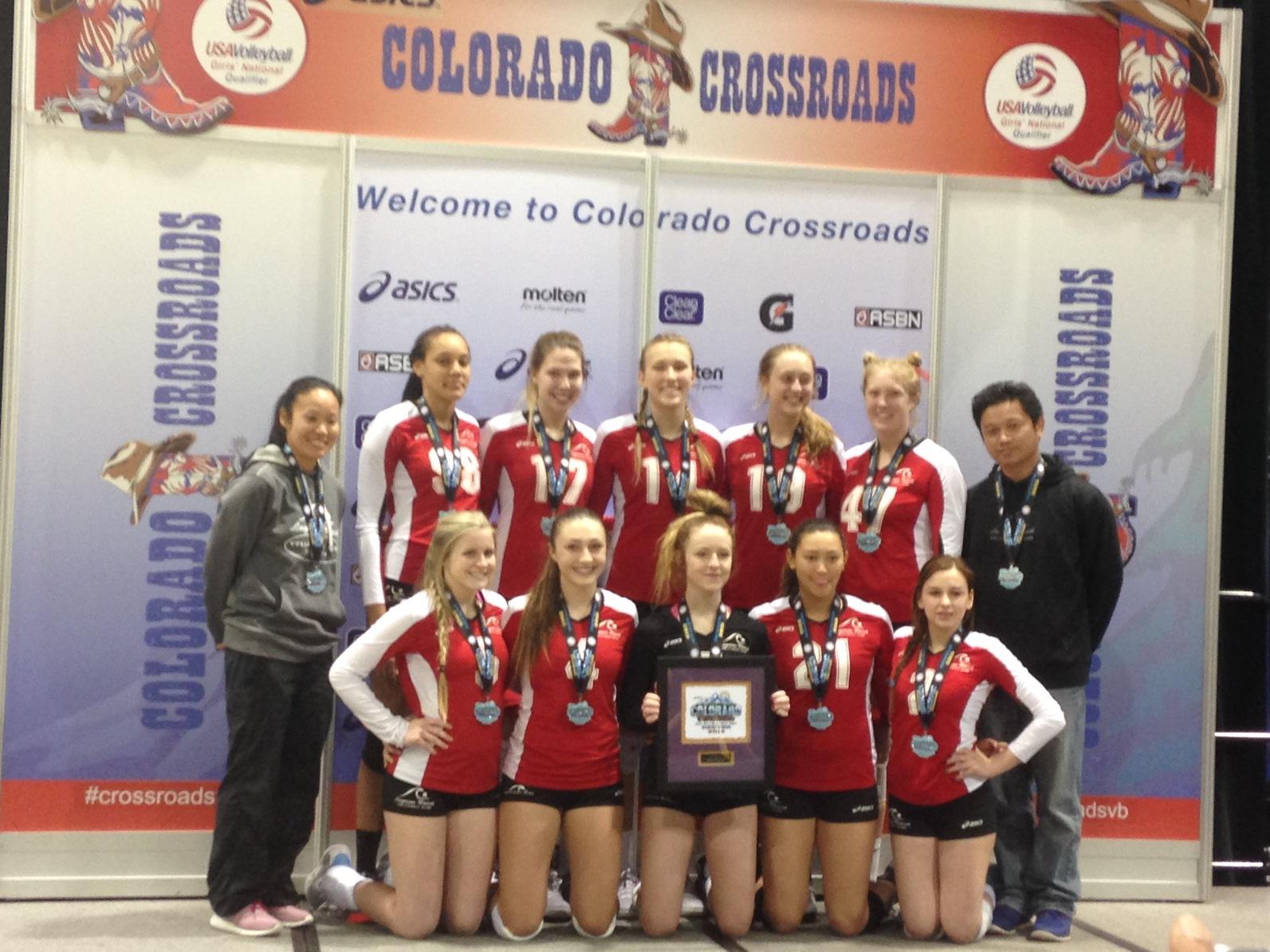 17-Tuan Colorado Crossroads Qualifier Silver Medalists