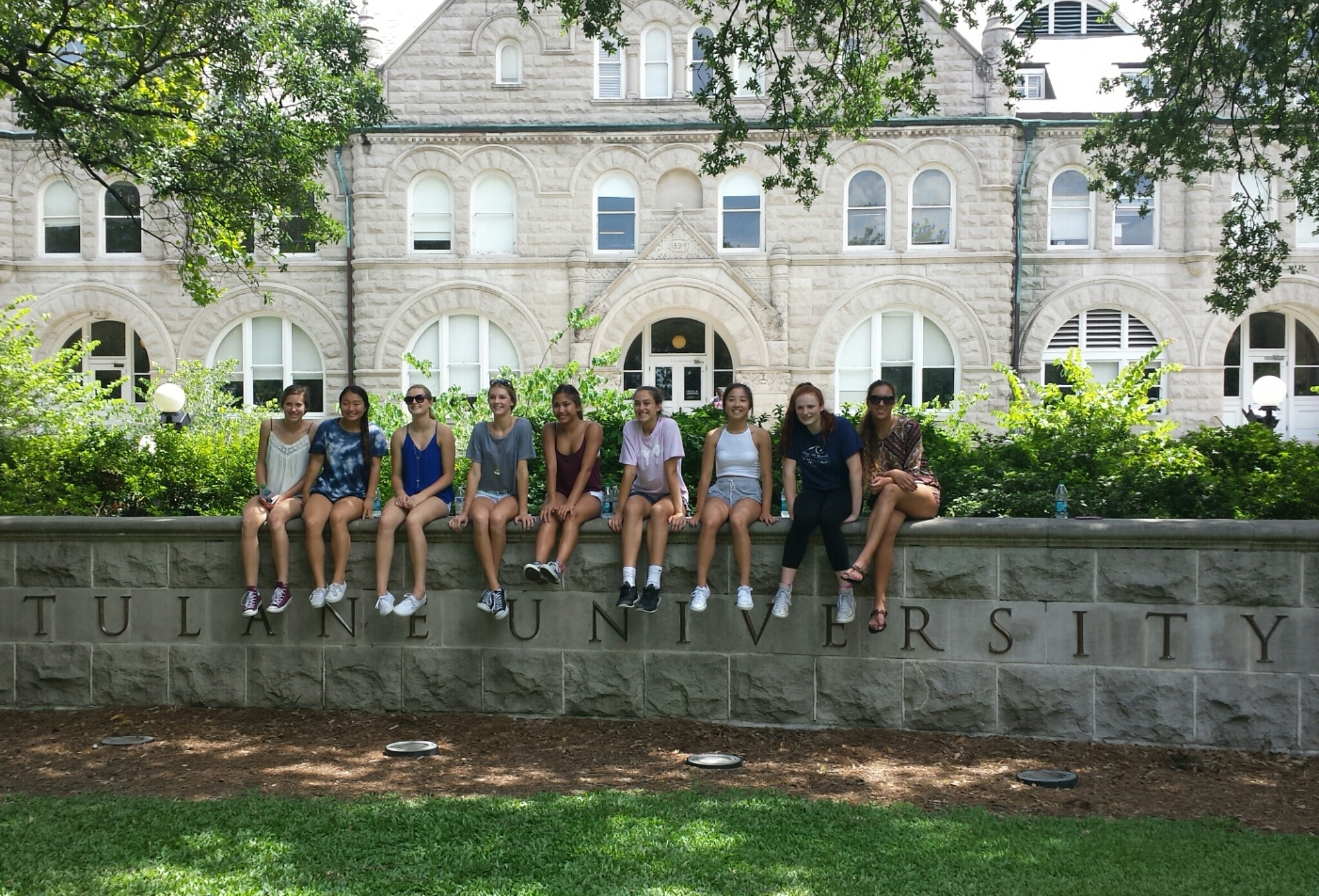 15Q Touring Tulane University