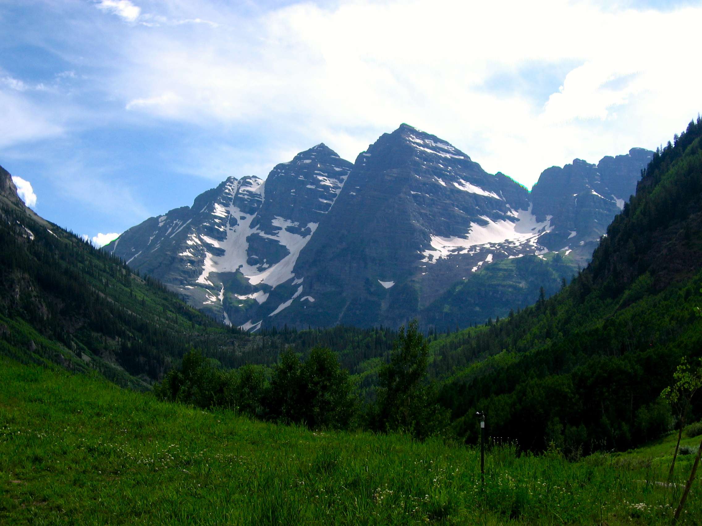 The Maroon Bells - some of the most photographed mountains in the world.