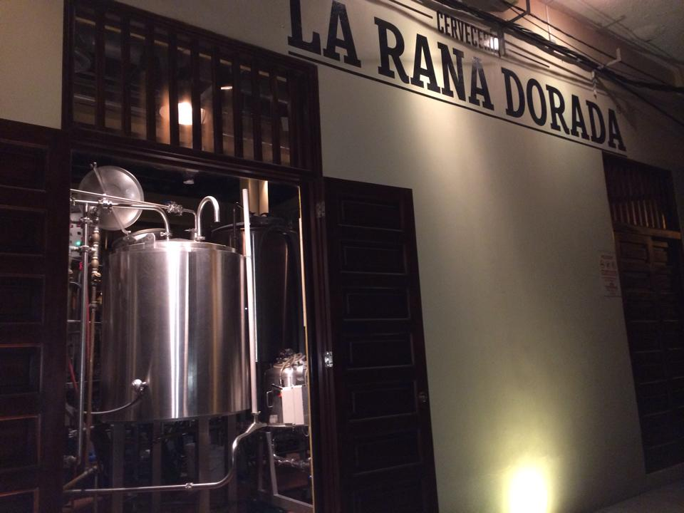 La Rana Dorada Brewery, Panama City.