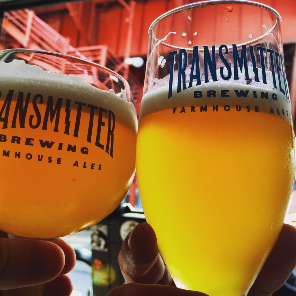 A fab collab with Transmitter Brewing in Long Island City, NY.