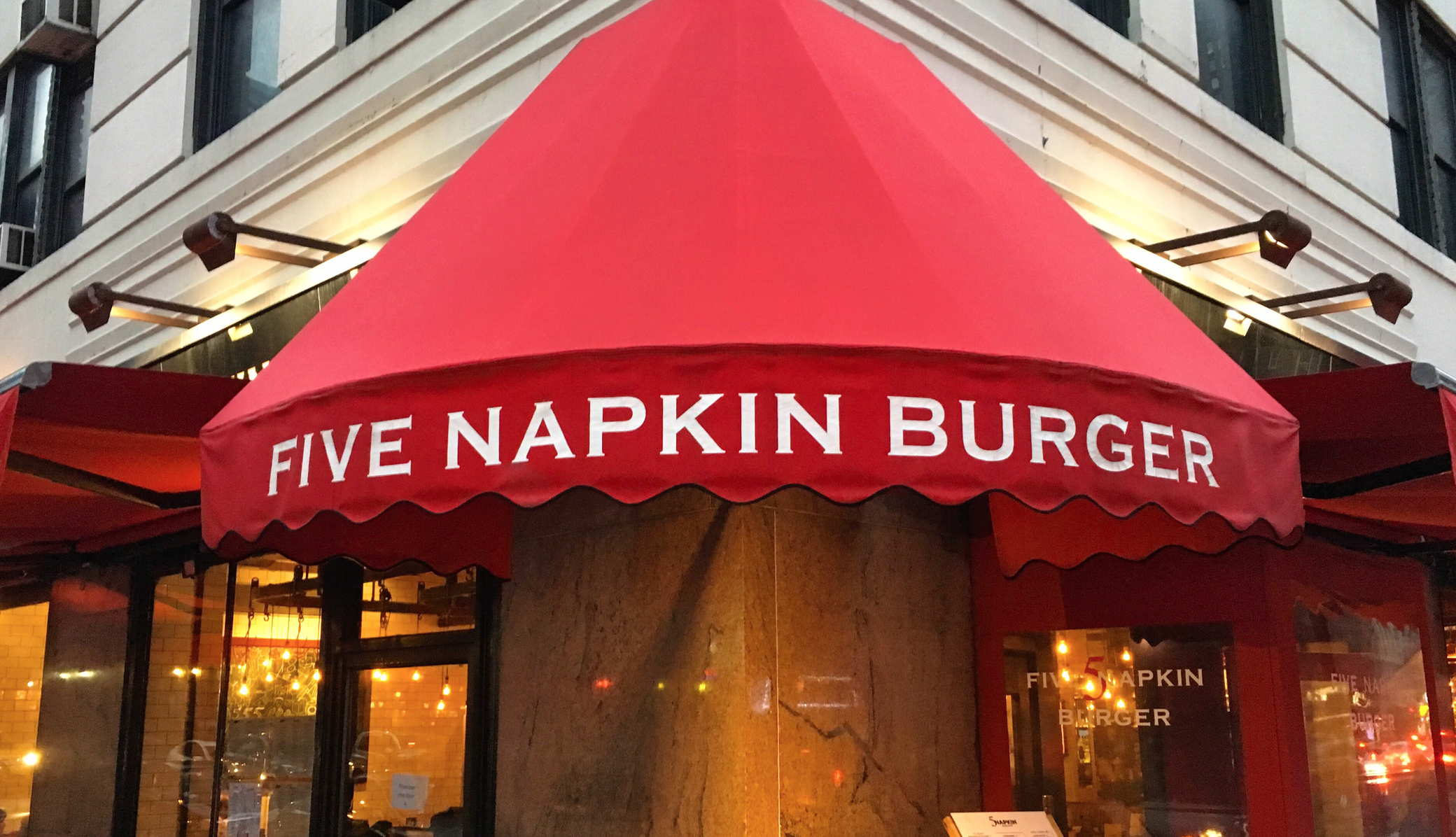 We can't thank 5 Napkin Burger enough!