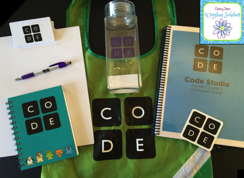 code.org workshop goodies