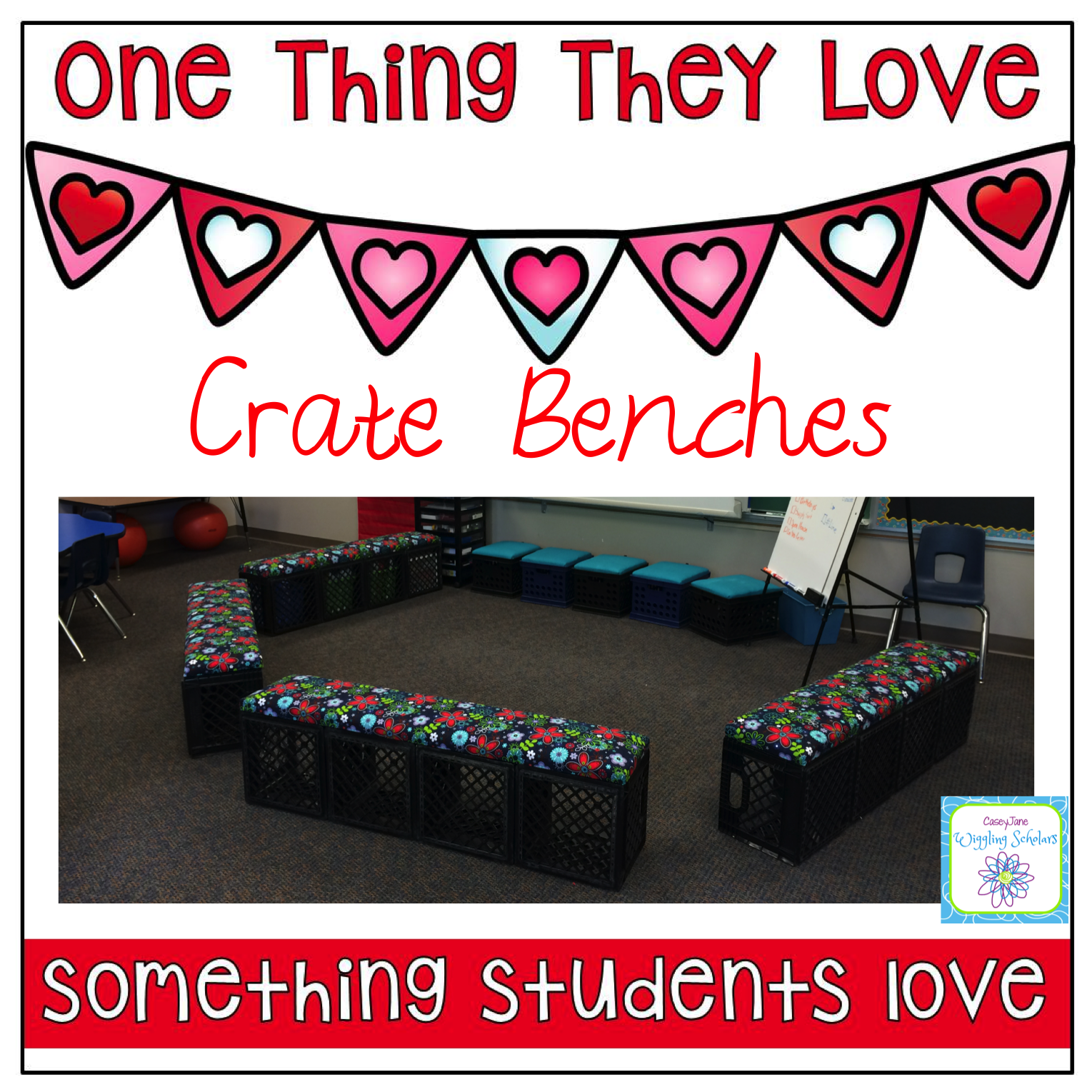 Crate Benches