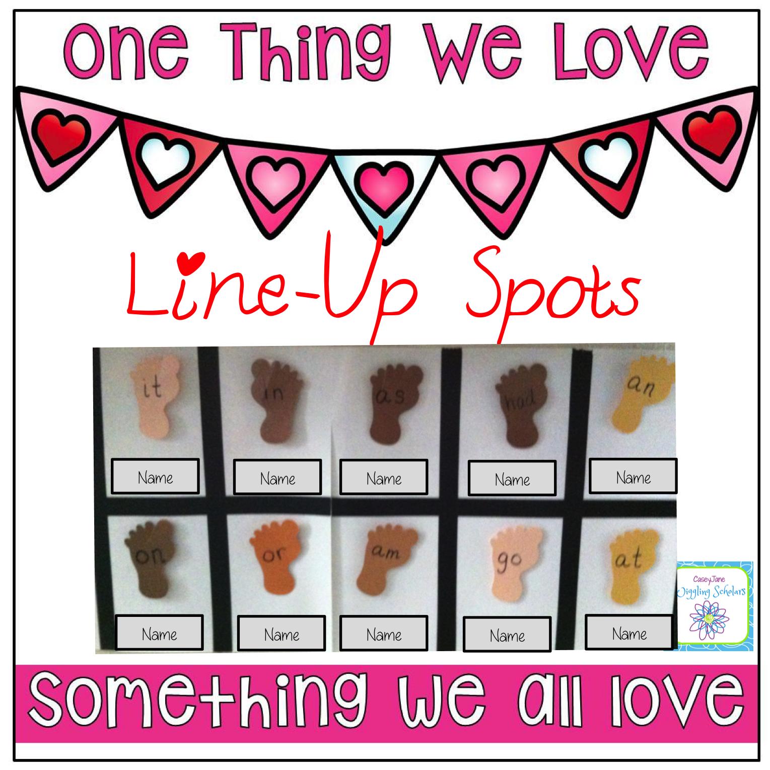 Line Up Spots