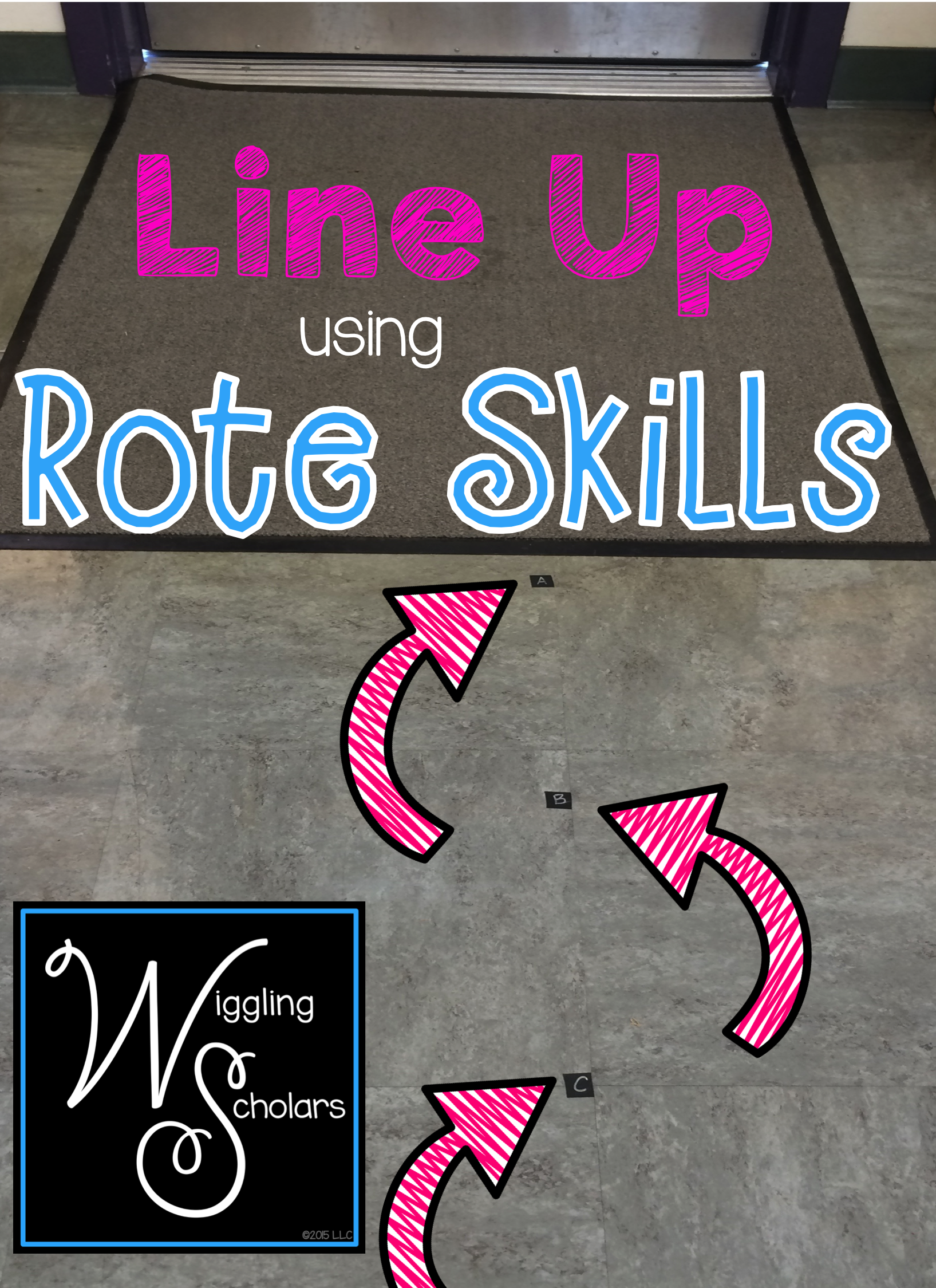 Line Up Using Rote Skills
