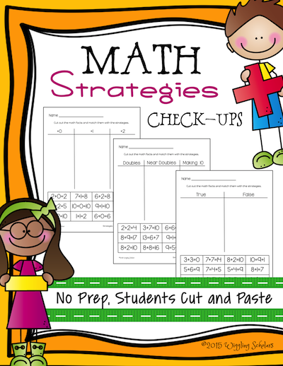 Math Strategies Check Up by Wiggling Scholars